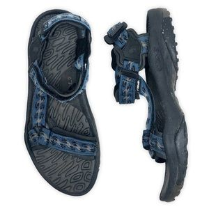 Teva Terra Fi Blue Waves Outdoor Hiking Sandals